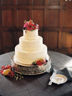 Fruit Wedding Cake Topper