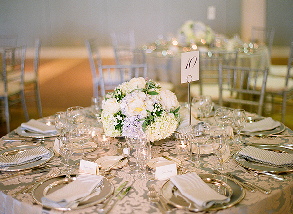 Tiffany Blue and Silver Reception Decor 1