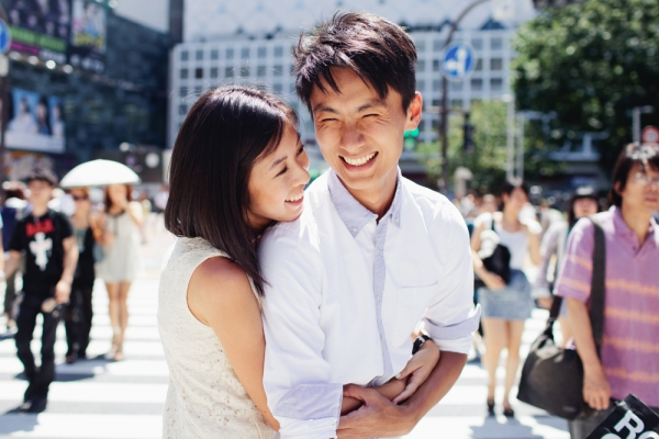 Tokyo Engagement Shoot From Ivan Tan