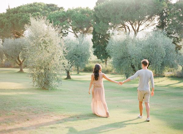 Tuscany Engagement Session