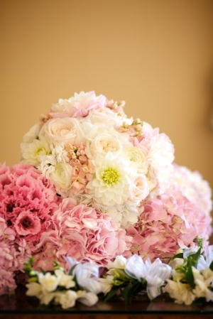 Variegated Pink Bouquets