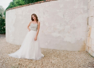 Crystal Bodice Wedding Gown