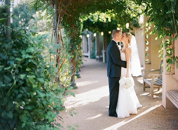 Wedding Portrait from Melissa Schollaert Photography