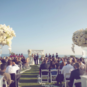 White Ceremony Decor