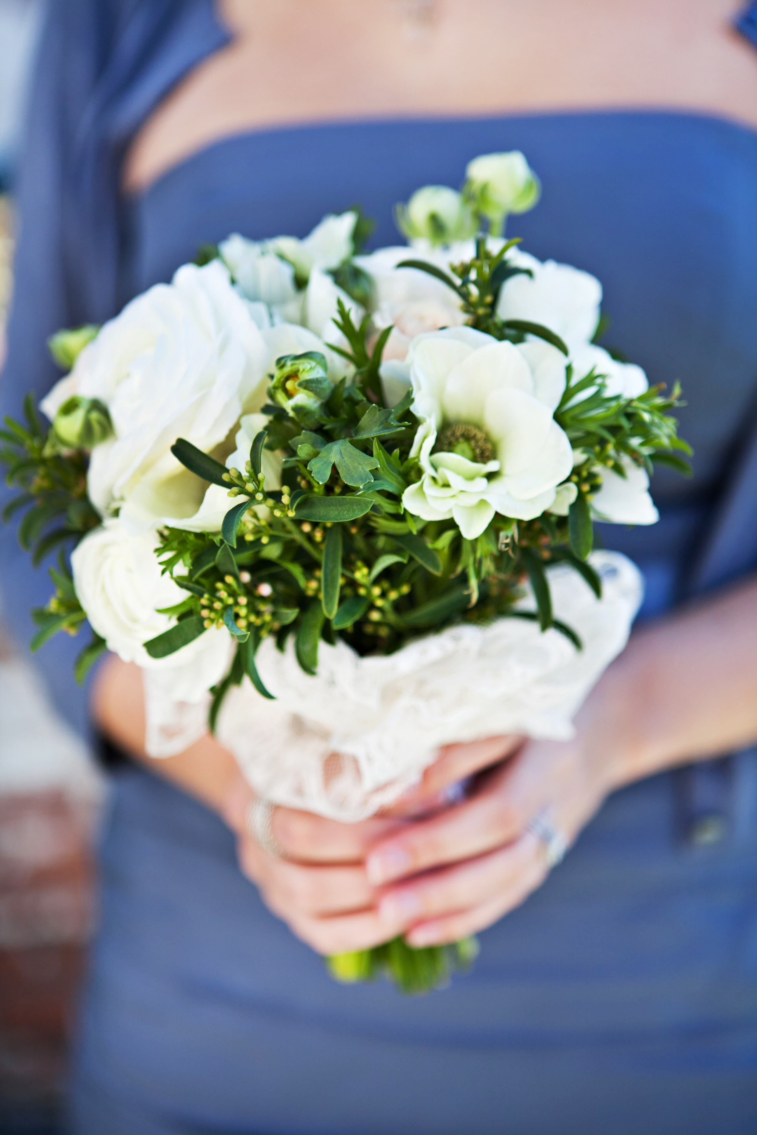 White Bridesmaid Bouquet Elizabeth Anne Designs The Wedding Blog