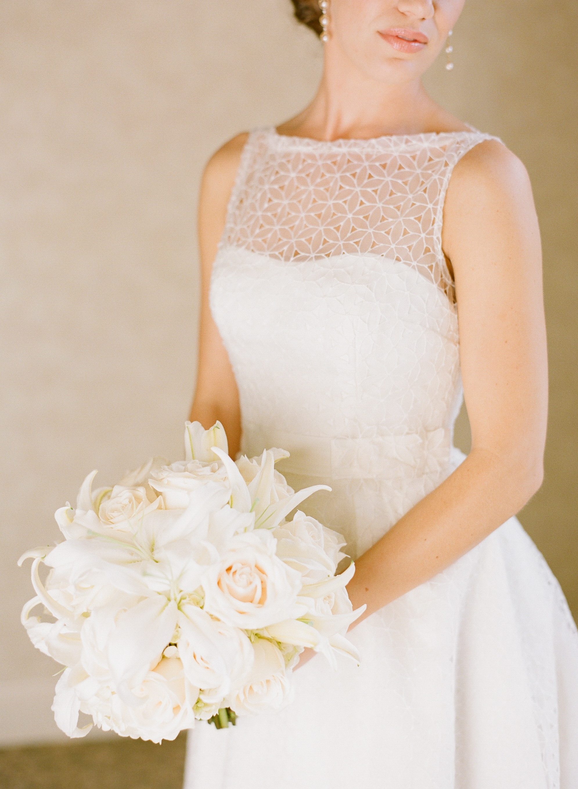 White Rose and Lily Bouquet - Elizabeth Anne Designs: The Wedding Blog