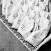 Wildflower Seeds in Cloth Bags Wedding Favors