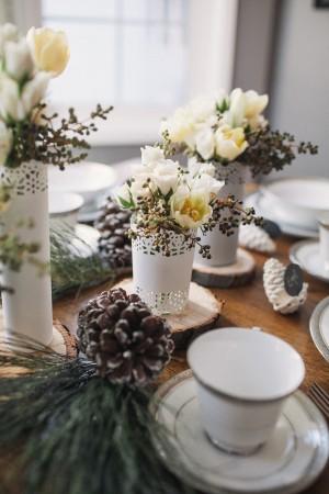 Winter Brunch Table