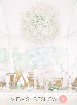 Babys Breath in Weddings