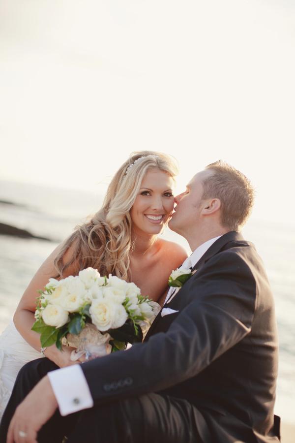 Beach Wedding Portrait Leigh Miller