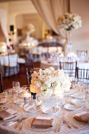 Blush and Ivory Reception