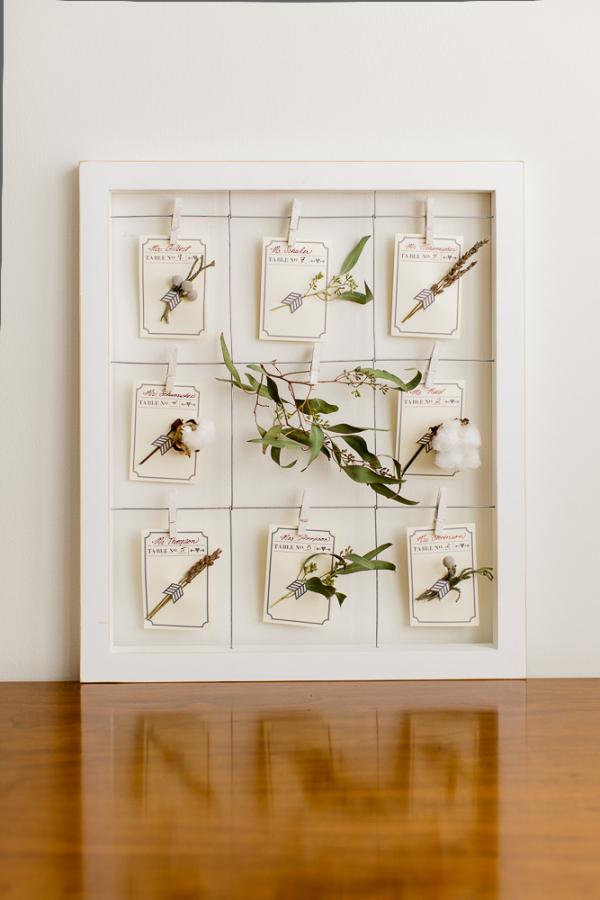Botanical and Natural Escort Cards