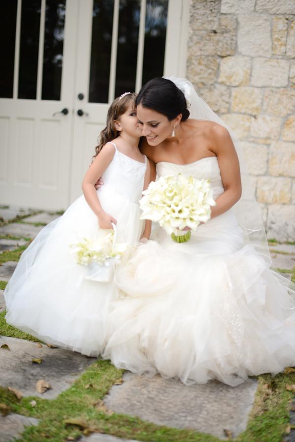 4e09af87054 Bride and Flower Girl - Elizabeth Anne Designs  The Wedding Blog