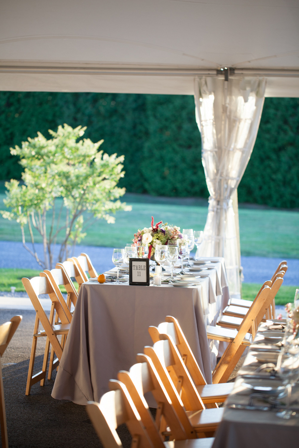 Casual Tent Reception Ideas