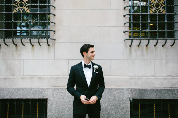 Classic Tux With Bow Tie