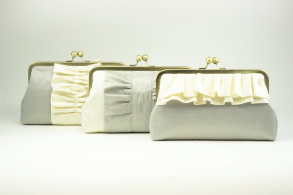 Coordinating Bridesmaids Clutches