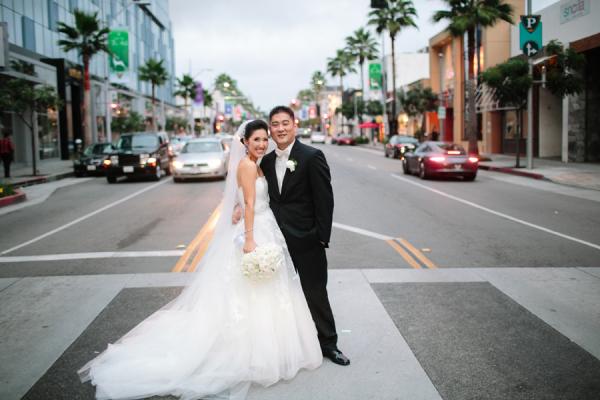 Couple Downtown LA Portrait Troy Grover Photographers