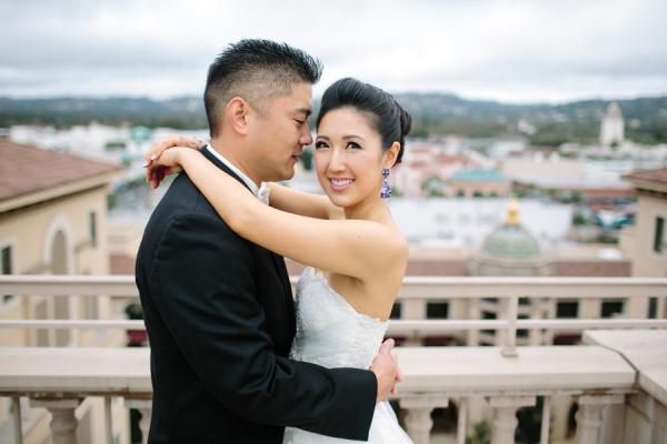 Couple LA Wedding Portrait Troy Grover Photographers