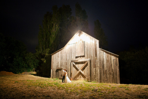 Couple in Front of Barn Christina Diane