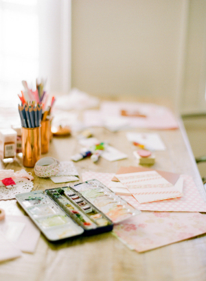 Craft Party Bridal Shower Ideas