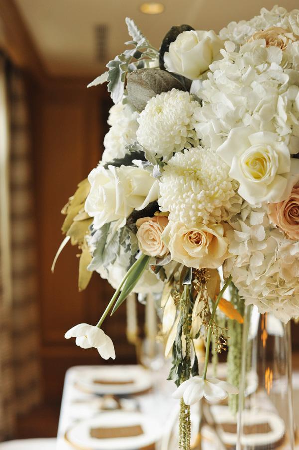 Cream And Blush Floral Arrangement Elizabeth Anne