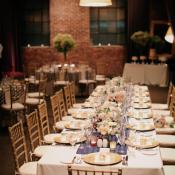 Cream and Gold Reception Decor Ideas