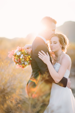 Desert Wedding Inspiration Brushfire Photography