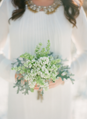 Winter Green Bouquet