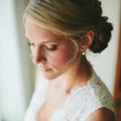 Elegant Chignon Bridal Hair Ideas