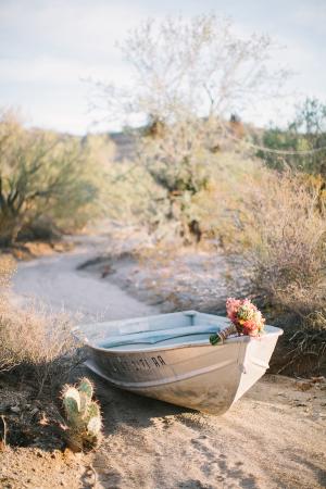 Elegant Desert Wedding Inspiration