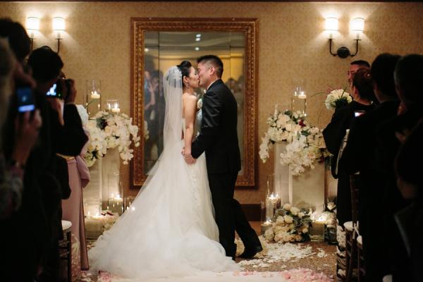 Elegant Hotel Ballroom Wedding
