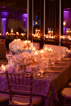 Elegant Modern White Reception