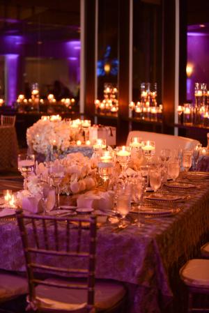 Elegant Modern White Reception