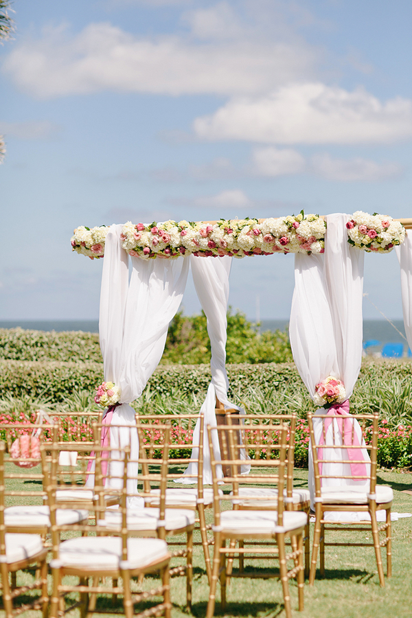 Elegant Outdoor Florida Ceremony