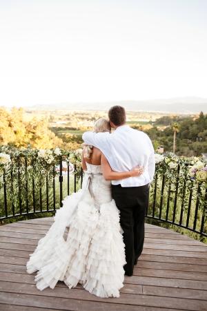 Elegant Wine Country Wedding