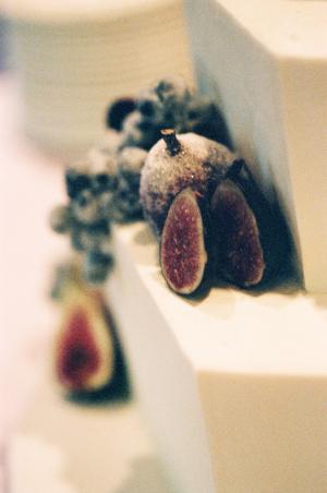 Fig Wedding Cake Detail