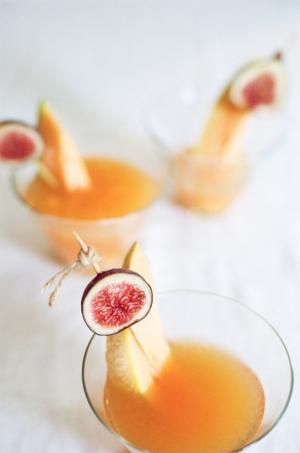 Fig and Melon Martini