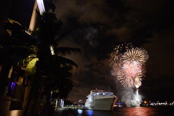 Fireworks in Miami