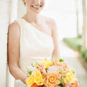 Fluffy Orange and Yellow Bouquet