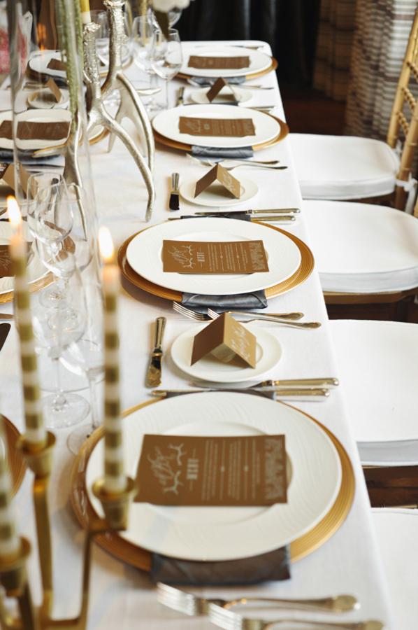 Gold And Cream Reception Table Decor Elizabeth Anne Designs The