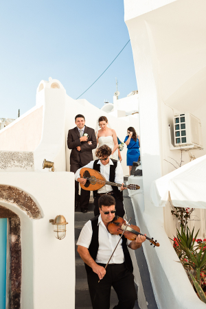 Greek Wedding Parade