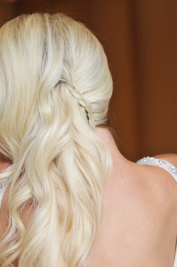 Ideas for Long Bridal Hair