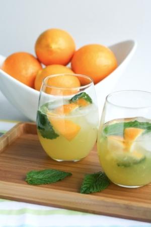 Meyer Lemon Mojitos
