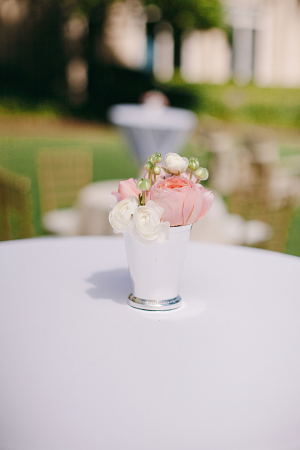 Mint Julep Cocktail Table Centerpiece