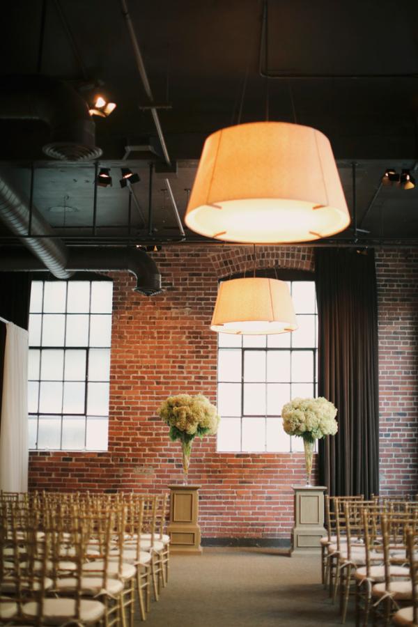 Modern Seattle Wedding Ceremony