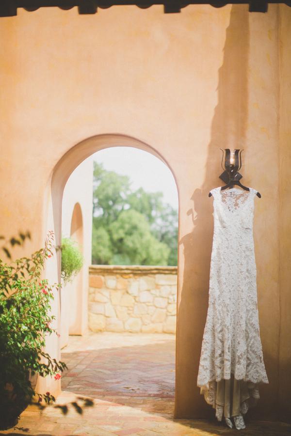 Monique Lhullier Lace Gown