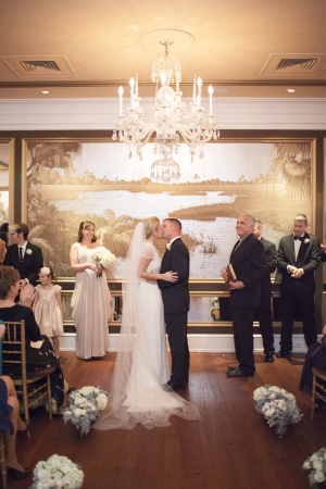 Olde Pink House Wedding Ceremony