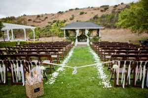 Outdoor California Wedding Venue Christina Diane