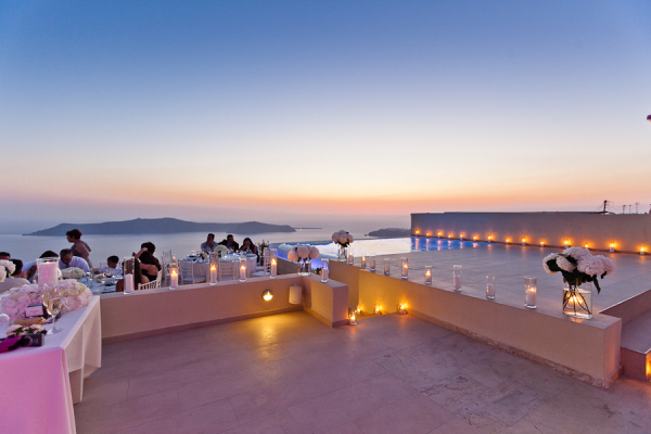 Outdoor Greece Reception Venue Vangelis Photography