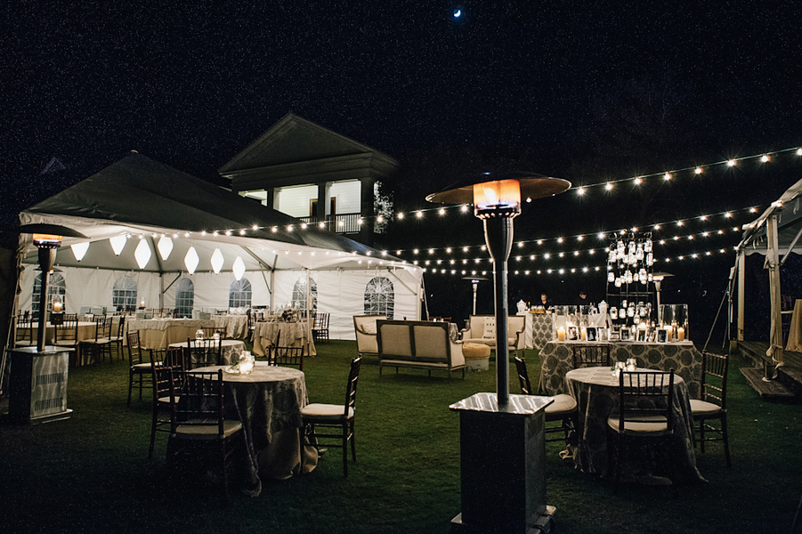 Outdoor Tent Reception Ideas In Seaside Florida